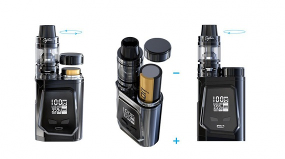 IJOY CAPO 100W With Captain Mini TC Kit 3750mAh