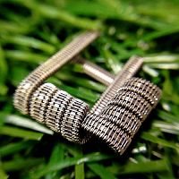 Staple Staggered Fused Clapton Coil