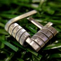 Framed Fused Clapton Coil