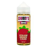 Strawberry Cake 120ml by Chubby's