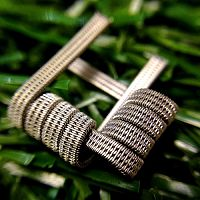 Triple Staggered Fused Clapton Coil