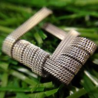 Quad Staggered Fused Clapton Coil