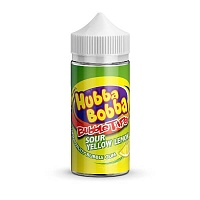 Sour Yellow Lemon 100ml by Hubba Bobba